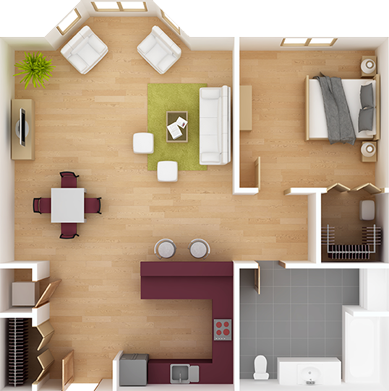 Klassic Home Interiors LLC Interior Layout